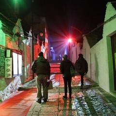 Il trulli di Alberobello per il Light Festival 2015
