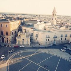 Piazza Vittorio Emanuele (piazza Catuma) ad Andria