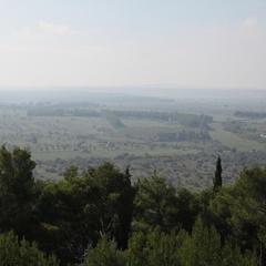 Vista panoramica da Castel del Monte