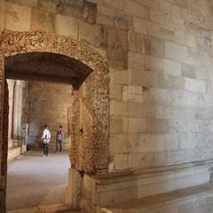 Interno di Castel del Monte