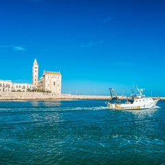 Cattedrale e porto di Trani