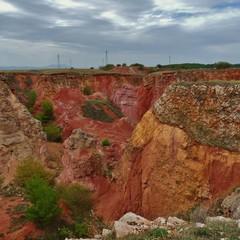 Cava di bauxite a Spinazzola