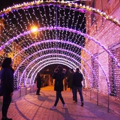 Luminarie di Natale ad Alberobello