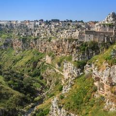 Panorama sulla Murgia Materana