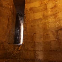 Feritoia in una torre del Castello