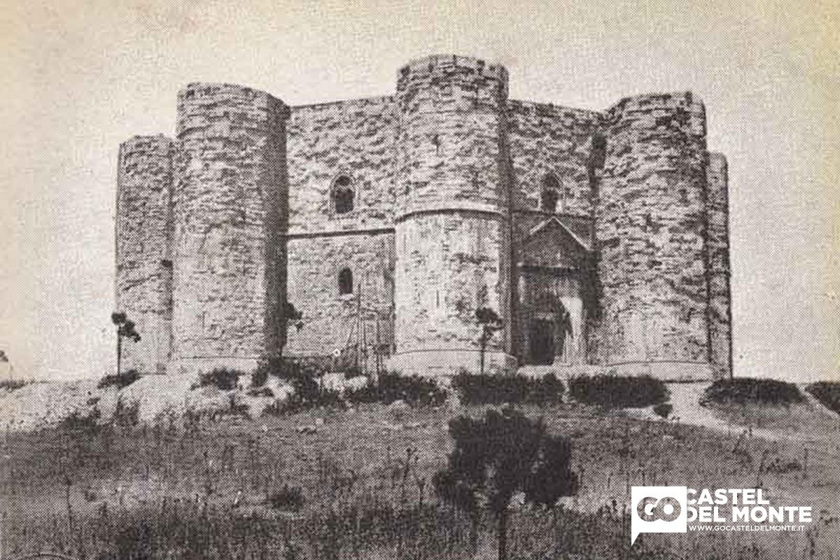Castel del Monte nel 1948