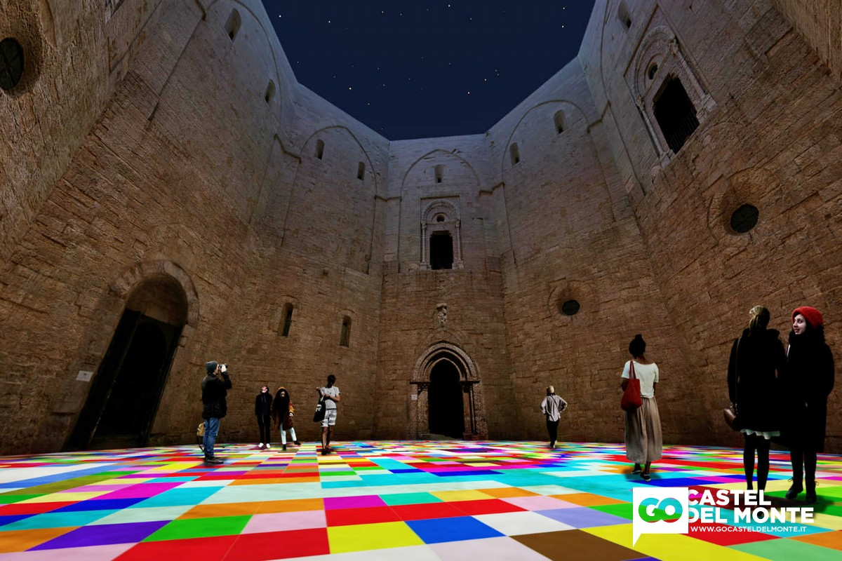 "Miguel Chevalier - ""Magic Carpets"". Festival Castel dei Mondi 2014"