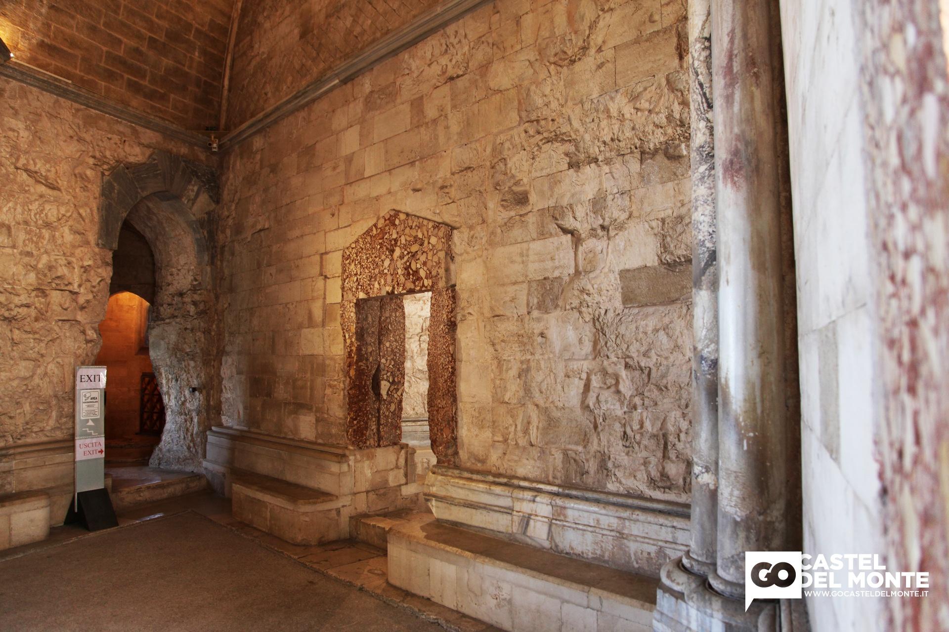 La struttura di castel del monte for Disegni del mazzo del secondo piano