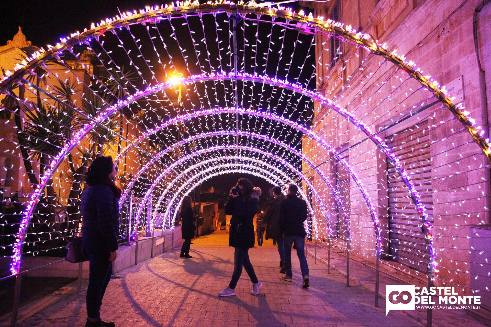 Natale in puglia presepi mercatini e luminarie for Luminarie puglia