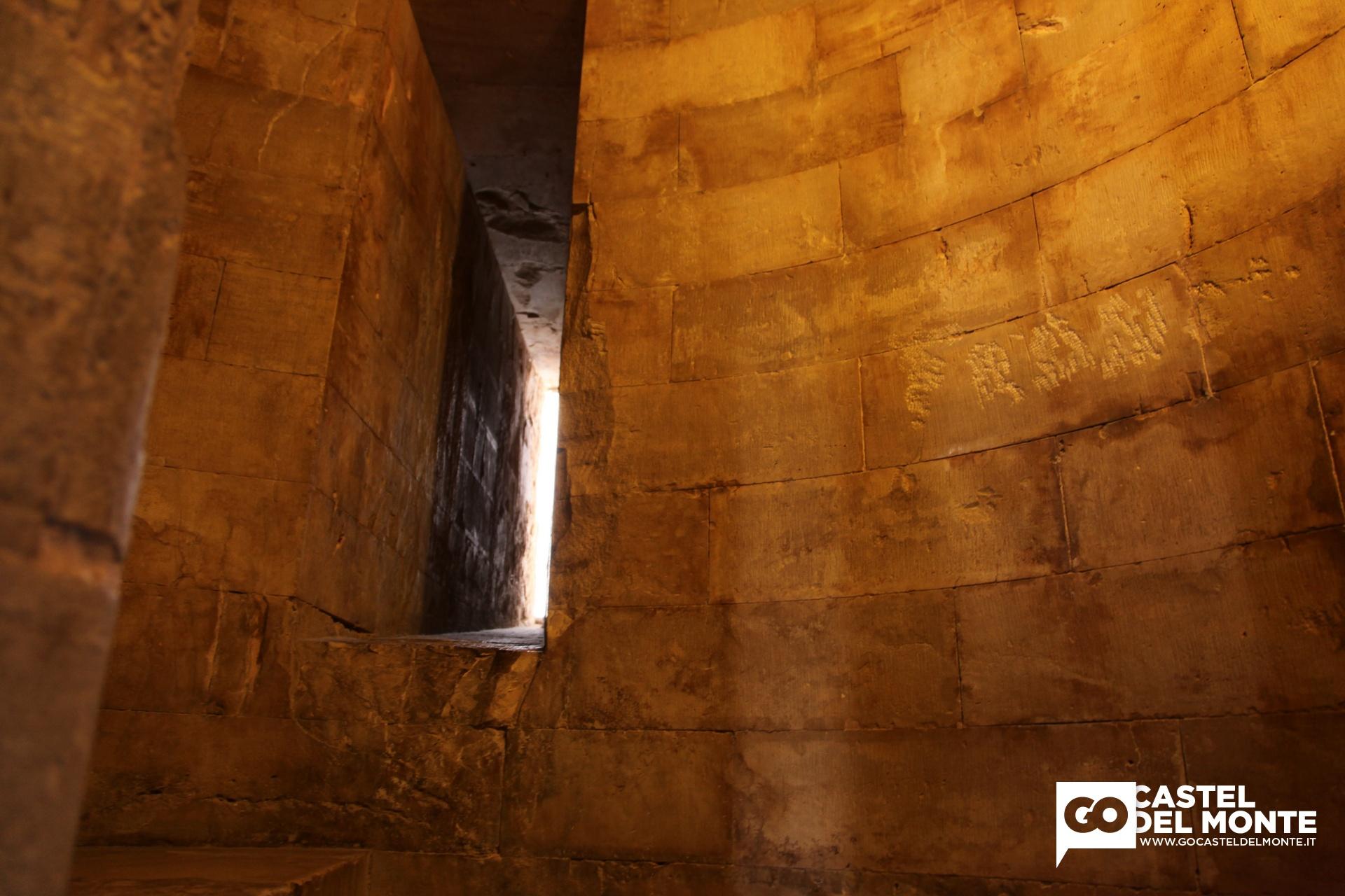 La funzione di castel del monte il pi bel castello di puglia - Scale a chiocciola bari ...