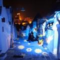 Ad Alberobello i trulli patrimonio Unesco si illuminano di Natale