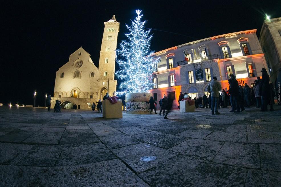 Cattedrale di Trani a Natale