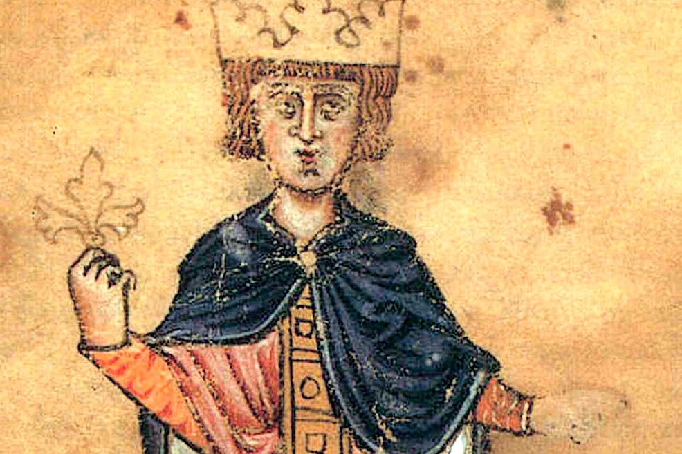 Ritratto di Federico II di Svevia
