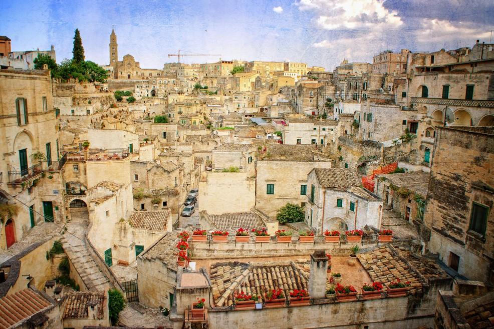Città nei dintorni di Castel del Monte