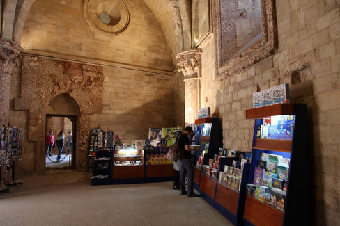 Bookshop a Castel del Monte