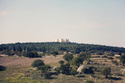 Castel del Monte e la murgia