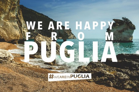 We are happy from Puglia
