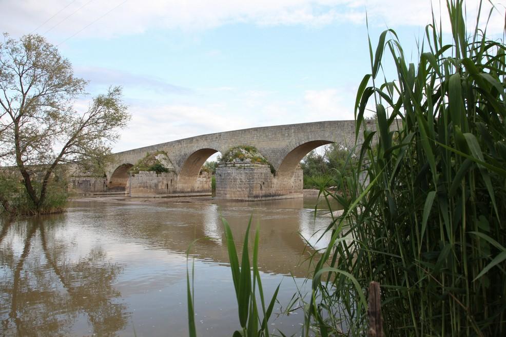 Ponte romano a Canosa di Puglia