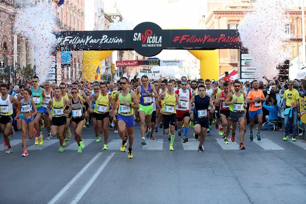 San Nicola Half Marathon Bari (Foto running.gazzetta.it)