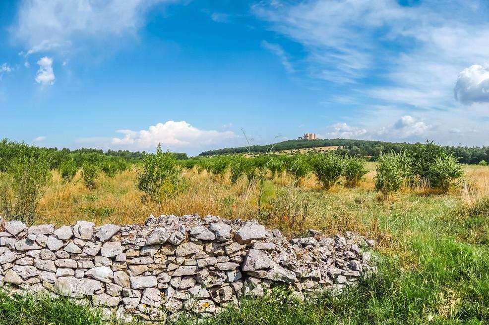 Panorama della Murgia pugliese