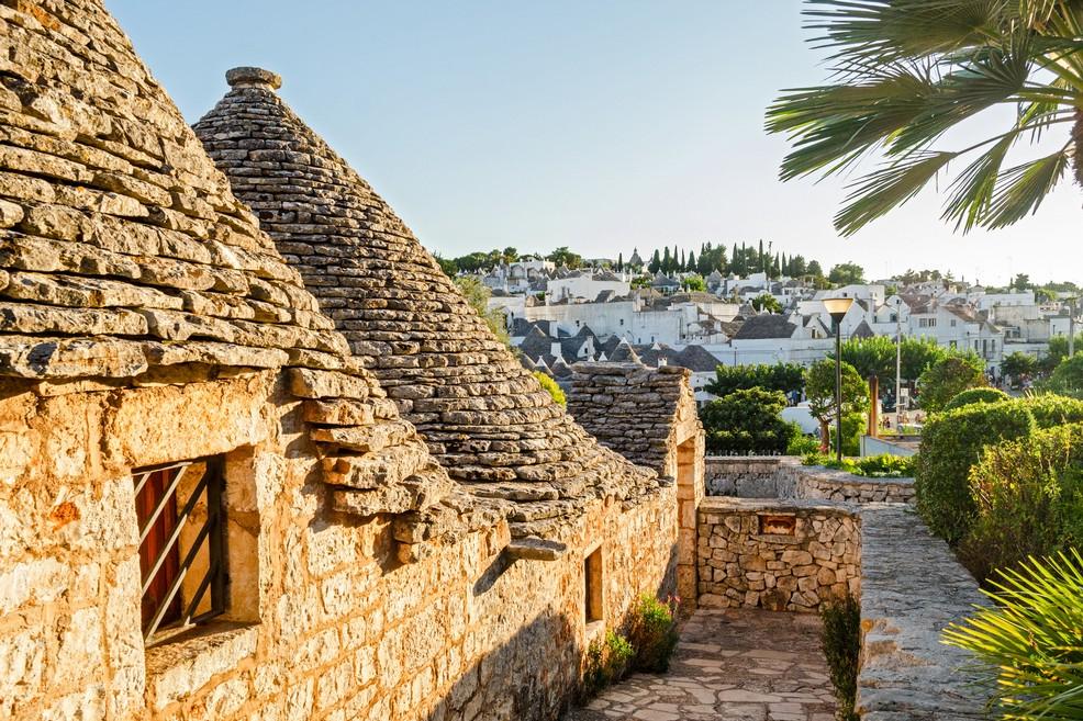 Trulli di Alberobello in Puglia